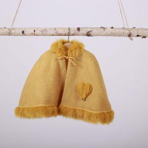 capa mantou pentru fetite Inimi Colorate