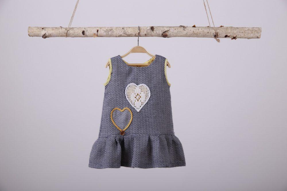 rochita fetite Inimi Colorate