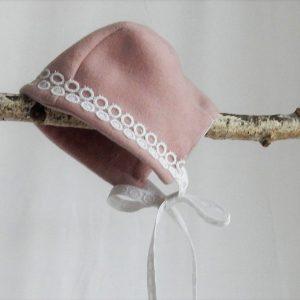 caciulita botez roz pudrat