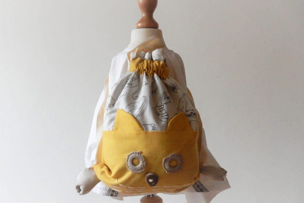 saculet traditional pisicuta galbena