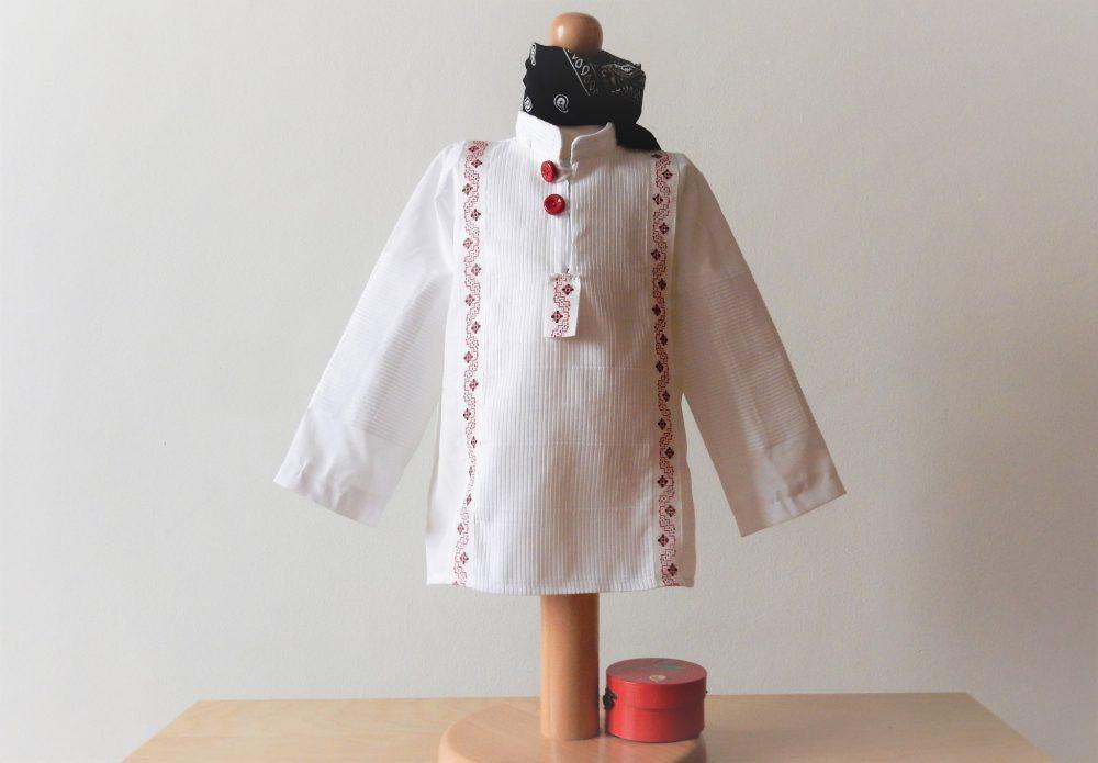 camasa traditionala rosu de deochi