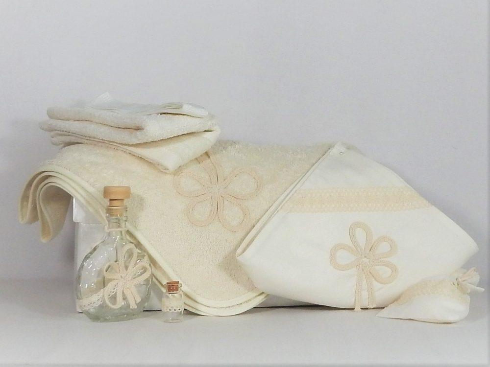 trusou botez handmade ivoire Noroc
