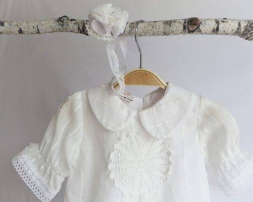 rochita botez imaculata maneca scurta