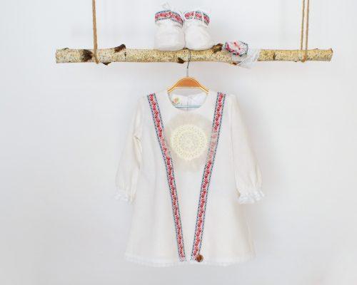 Colecția unicat de botez Trandafir de la Moldova