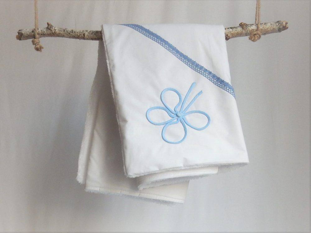 paturica unicat botez trifoi bleu