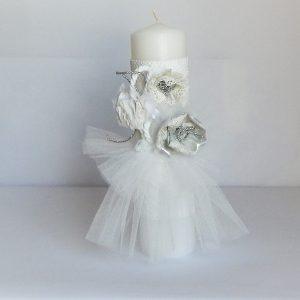 lumanare botez balerina