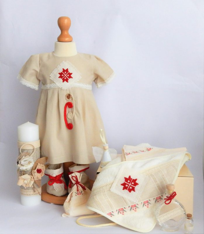 Rochita traditionala Floare Romaneasca