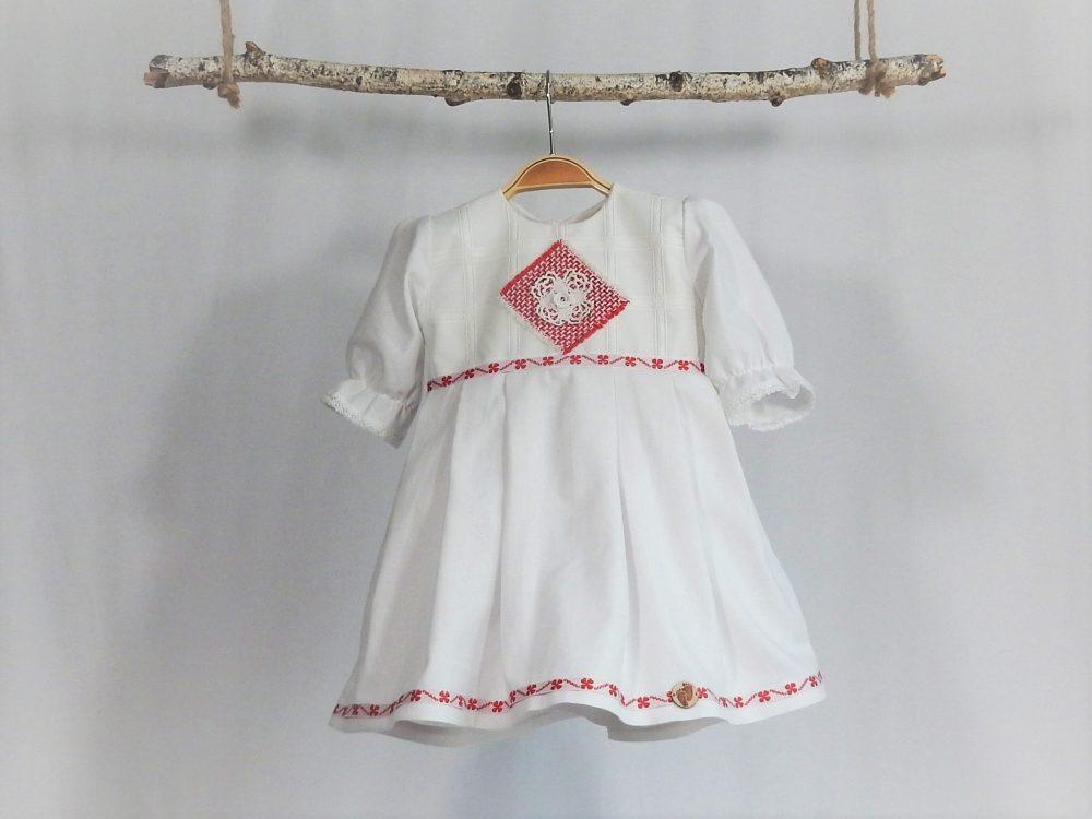 rochita unicat botez rosu de deochi