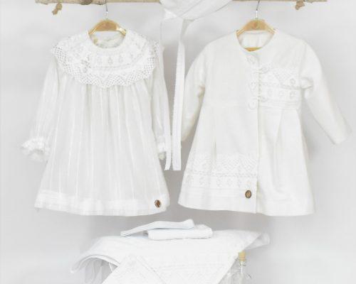 Colecția unică botez fetițe Ca Omătul