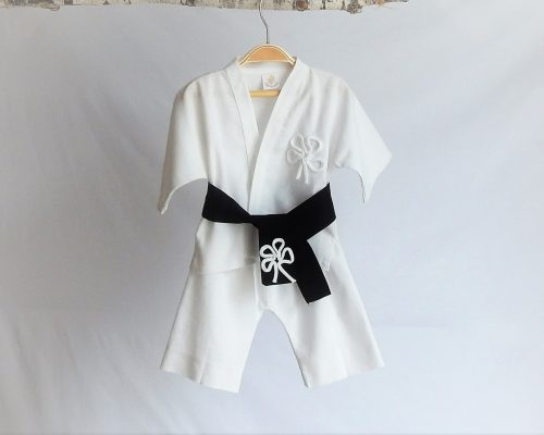 Colecția albă de botez- Micul Judoka