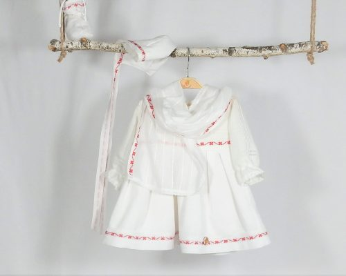 rochita unicat botez trifoi rosu