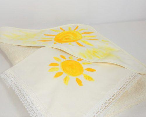 trusou botez pictat soarele