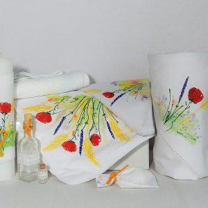 colectia pictata unicat botez flori de camp