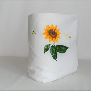 paturica botez unicat pictata floarea soarelui