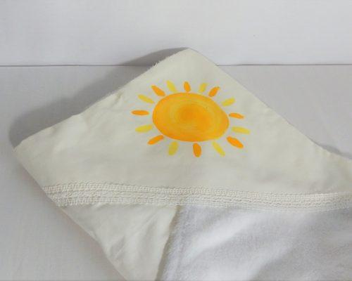 paturica botez unicat pictata soarele meu