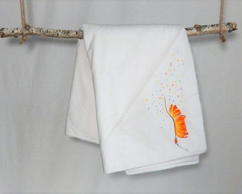 aturica botez unicat pictata fluturas