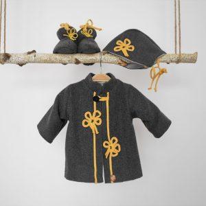 Pardesiu handmade pentru băieți- Matei cel Norocos