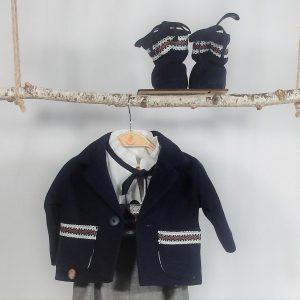 Sacou unicat tradițional pentru băieți - Pui de Boier la Țară