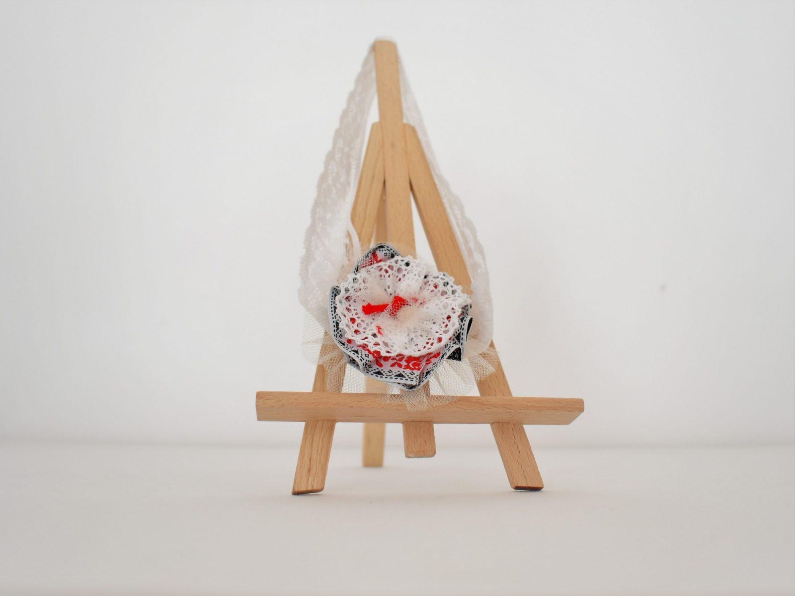 Bentita handmade pentru botez