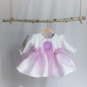 rochita unicat botez aroma liliac