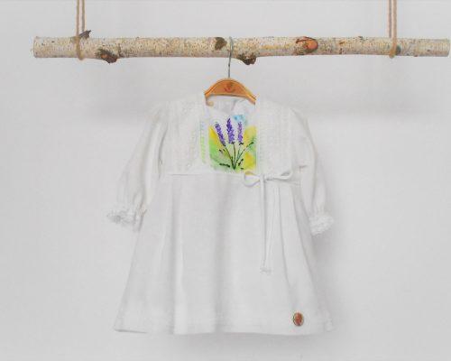 Colecția pictată pentru botez fetițe Lavanda