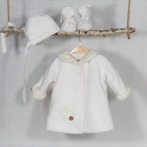 mantou unicat botez fetite rotocol alb