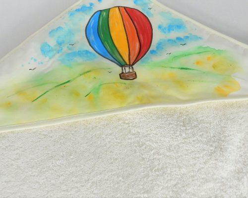 trusou botez unicat pictat balonul