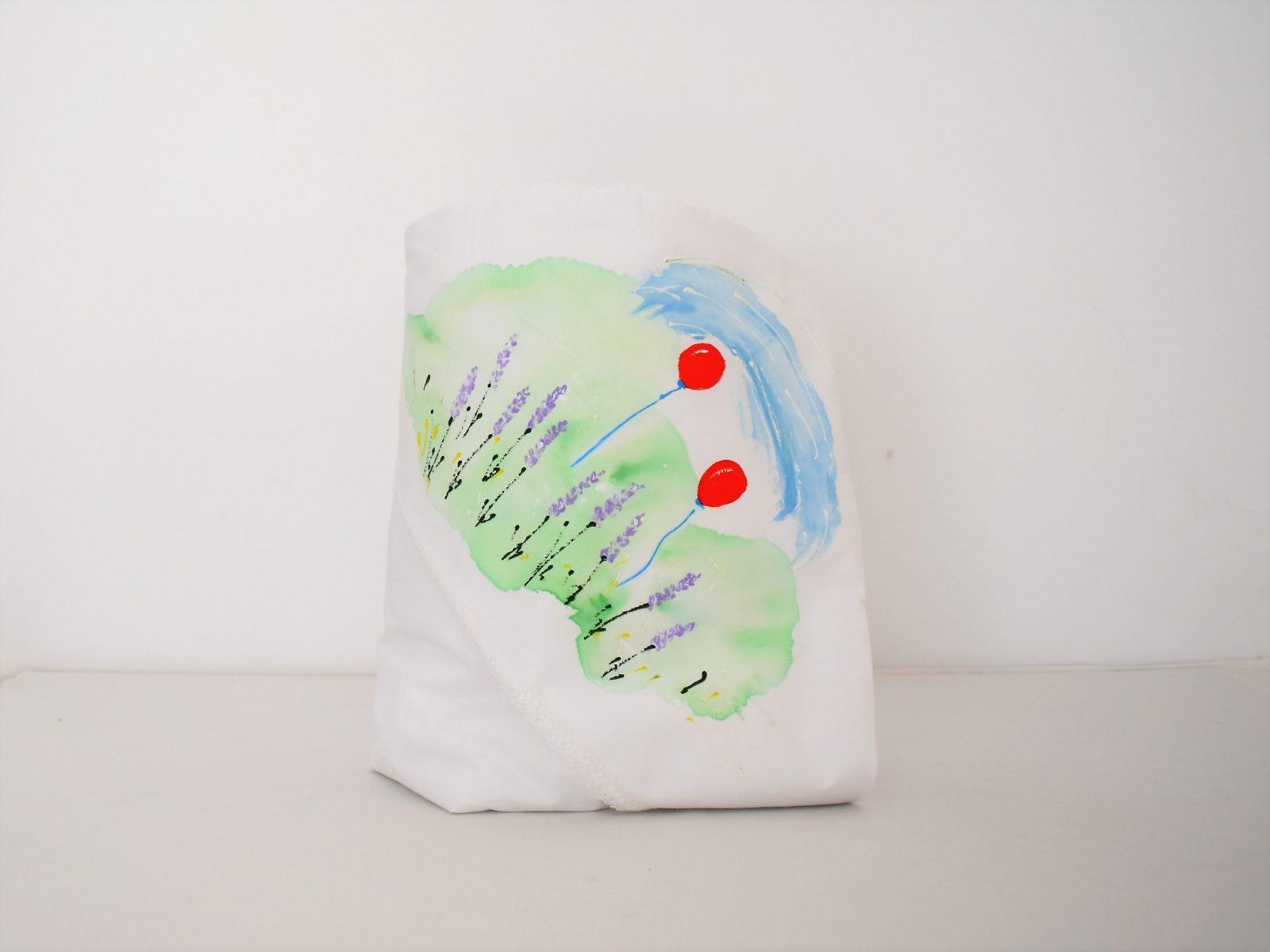 Păturica pictata pentru botez- Elefănțelul