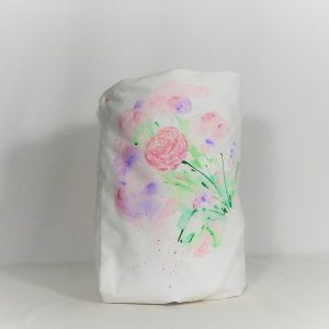 Păturica pictata pentru botez fetite- Trandafiri Keira