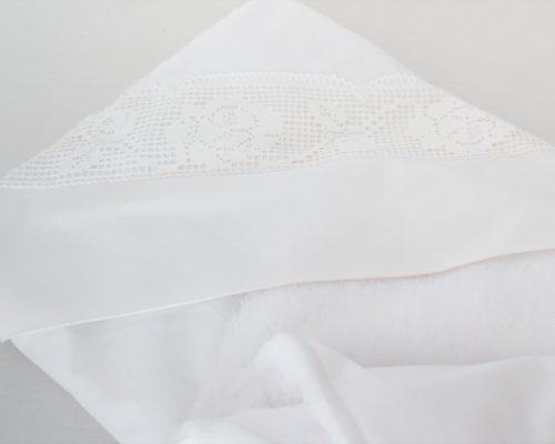Păturica unicat pentru botez