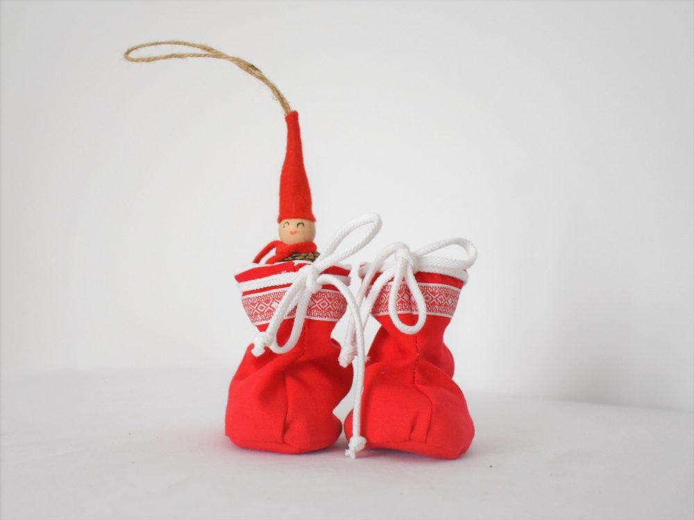 Botoșei pentru fetițe Scufița Roșie