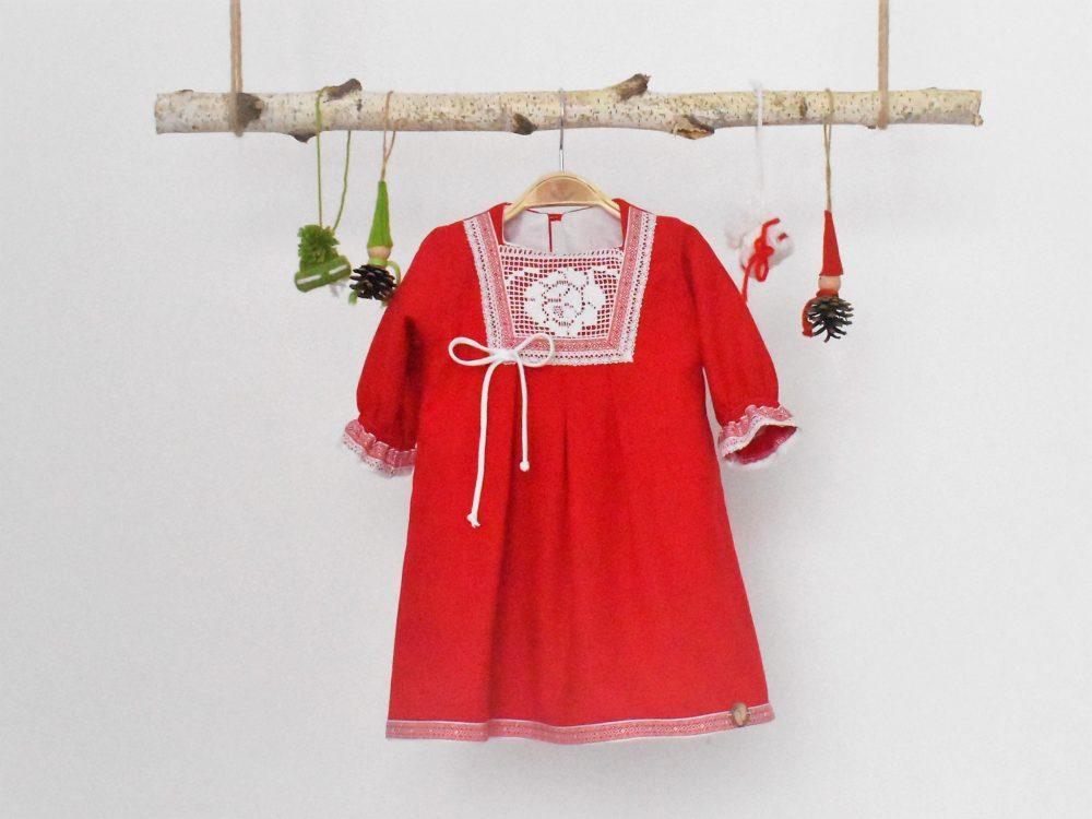 Rochița unicat pentru fetițe - Scufița Roșie