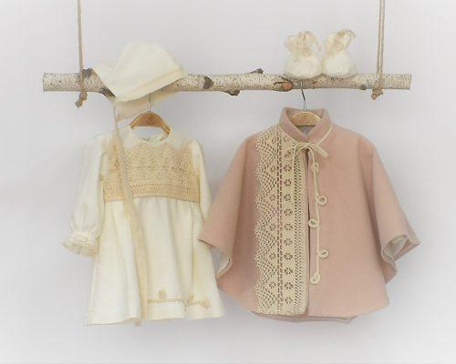 Colecția unică botez fetițe Dantela Bunicii