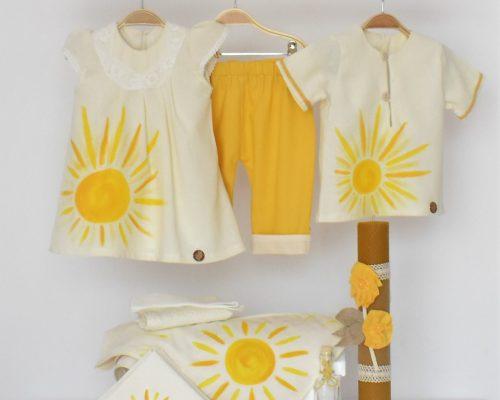 Colecția pictata pentru botez Tu Ești Soarele Meu